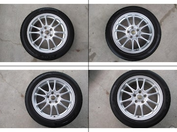 A-TECH FINAL MIND タイヤホイール 17インチ 5穴 114.3  215/55R17