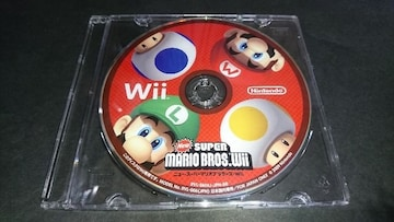 Wii NewスーパーマリオブラザーズWii / ディスクのみ