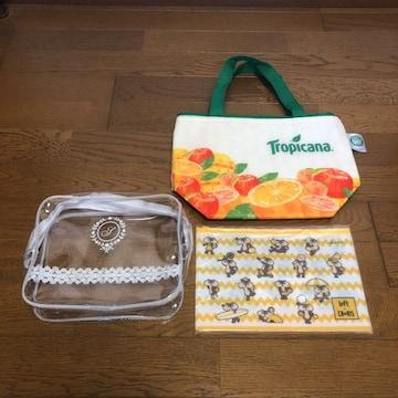 Tropicana 保冷バッグ loft×CHORIS フロストポーチ 透明ポーチ