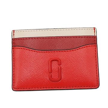 ★マークジェイコブス カードケース(RED)『M0014527』★新品本物★