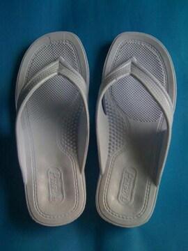 【送料込】即決★ギョサン★ホワイトLLサイズ(26〜27cm)新品
