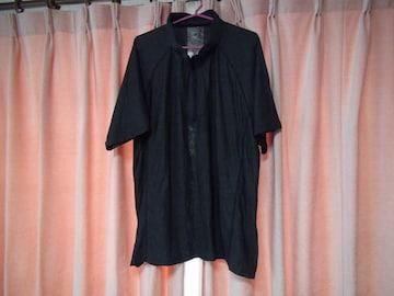 DRYのポロシャツ(5L)チャコットグレー!。