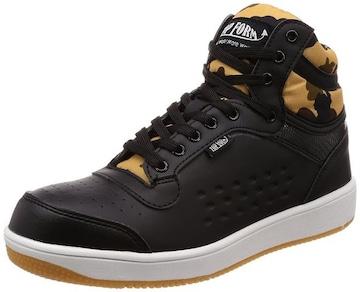 キタ  安全靴・作業靴 ハイカット 迷彩柄 サイズ26.5�p