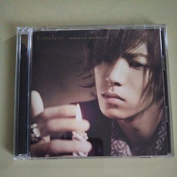 山下智久◇Loveless 初回盤 CD+DVD◇中古