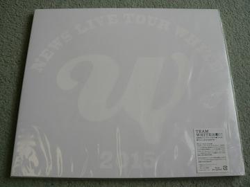 NEWS『LIVE TOUR 2015 WHITE』初回盤【Blu-ray:3枚組】他に出品