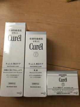 キュレル 美白化粧水�V、乳液、フェイスクリーム