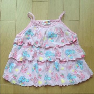 used 子供服 ANGEL HEART フリフリキャミソール  110
