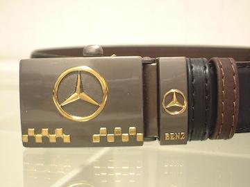 ★40%OFF以下★激安★Mercedes-Benz★綺麗な革ベルト★新品★