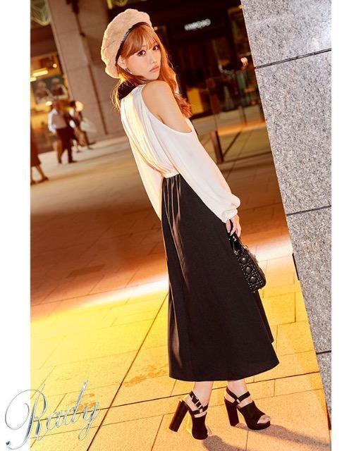 Rady☆大人気☆ボウタイマキシワンピ☆S☆新品同様 < ブランドの