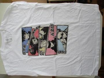 「呪術廻戦」グッズ・五キャラクター画像特選白Tシャツ
