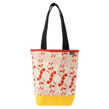 《New》ミッキーマウス/レトロ★通勤.通学のサブバッグに…帆布*トートバッグ