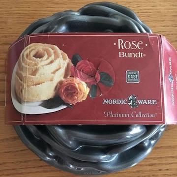 ノルディックウェア 薔薇のケーキ型 ローズ バンズ
