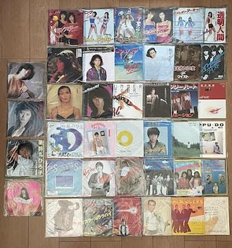 ■邦楽レコード【日本 昭和歌謡曲】大量セット40枚■
