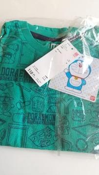 サイズ110☆UNIQLO×ドラえもんTシャツ☆グリーン