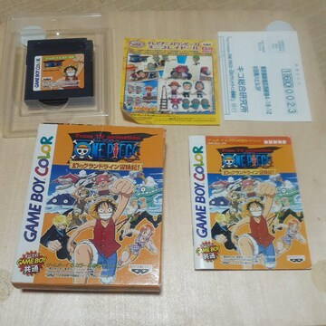 ONE PIECE 幻のグランドライン 冒険記/ GB ソフト