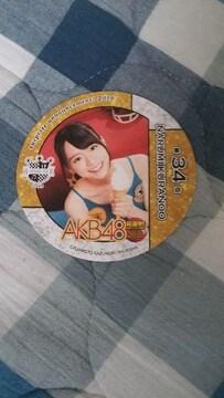 AKB48総選挙!水着サプライズ倉野尾成美カフェコースター