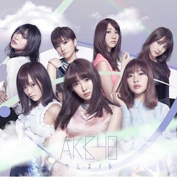 即決 シリアル封入 AKB48 サムネイル Type-A (+DVD) 新品未開封
