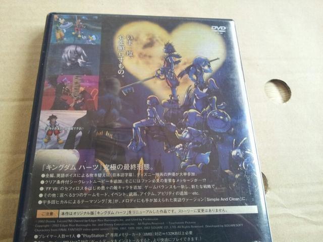 人気シリーズ♪PS2☆キングダムハーツ ファイナルミックス☆美品♪SQUARE。 < ゲーム本体/ソフトの