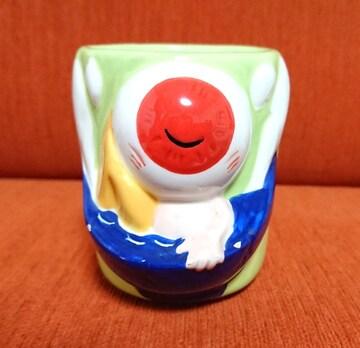 ★ゲゲゲの鬼太郎★陶器の湯飲み・目玉おやじ