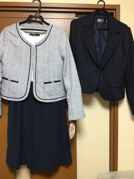 新品☆入学式♪卒業式♪ワンピース ジャケット 3点セット☆