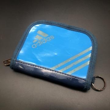 即決 adidas アディダス 二つ折り財布 ウォレット