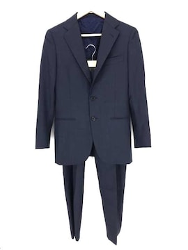 SHIPS(シップス)Pin Check 2 Two Button Pleated Suitスーツセットアップ