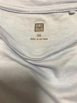 今季UNIQLO☆袖スカラップレース使いTシャツ