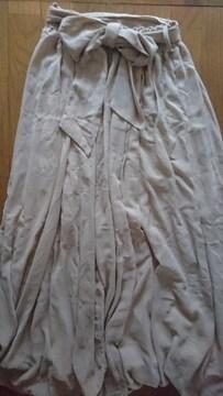 セシルマクビー★ロングスカート風ガウチョパンツ