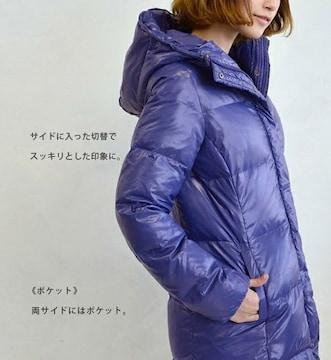 ☆イーザッカマニアーズ☆リアルダウン☆ネイビーパープル☆完売