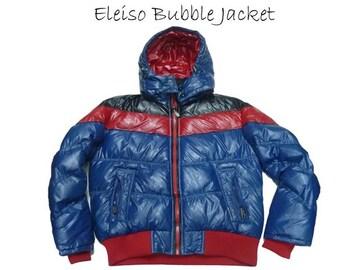 新 ELEISO エルイソーバブルスタイフード付ジャケット L