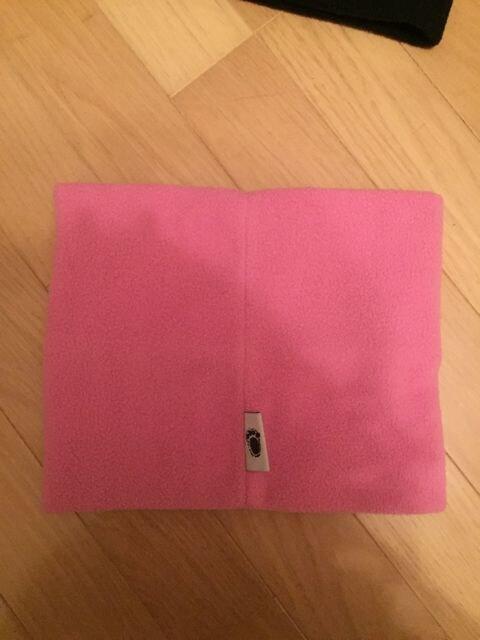 コージークリッターズ ピンク猫 ネックウォーマー フリース素材 < 女性ファッションの