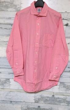 J.PRESSフレッシュピンクロングシャツJプレスシャツ