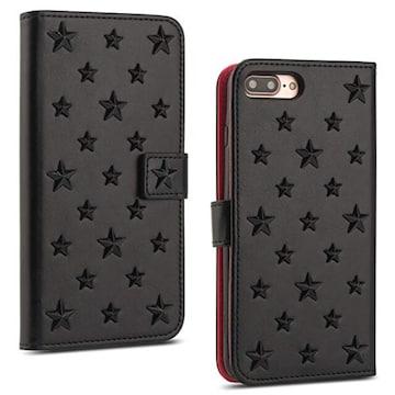 色ブラック サイズFor iPhone 7/iphone 8 LNOBERN お