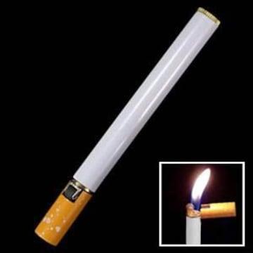 たばこ型 スリム型 ガスライター 携帯便利 すっきり収納×3本