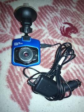 カメラ型★ドライブレコーダー★ブルー