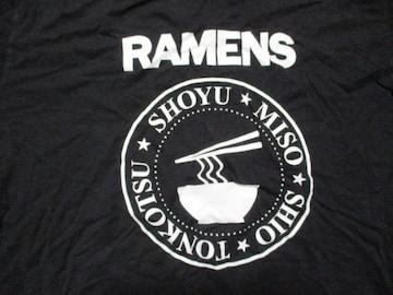 USA製 ラモーンズ パロディ RAMENS Tシャツ USA−XL