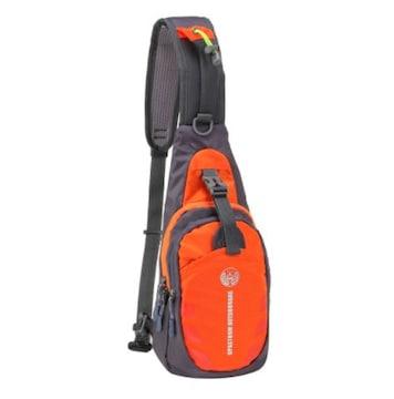 超軽量 ワンショルダー 斜め掛けバッグ オレンジ