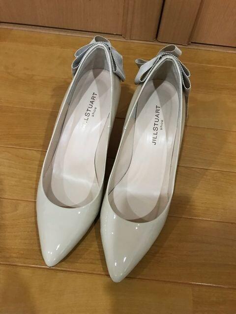 美品 ジルスチュアート パンプス 靴 レディース 23.5  < 女性ファッションの