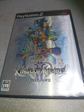 PS2!箱説あり!キングダムハーツ2!ソフト!