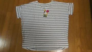 大きいサイズ★BDVネックシャツ★3L