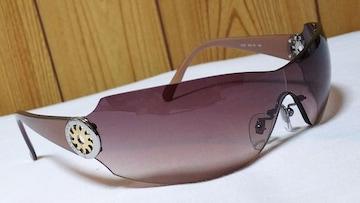 正規レア ブルガリ B-zeroロゴ×トンドサン スポーティーサングラス茶 フレームレス 太陽