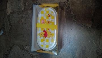 新品未使用・お弁当箱・2段ランチボックス・プーさん