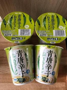 北海道ローカルコンビニセコマ限定 新発売 青唐辛子ねぎラーメン