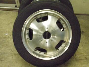 稀少ヨーロピアンタイプ軽自動車サイズアルミ&タイヤ4本セット