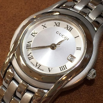 GUCCI 正規レディース腕時計 5500L