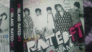 激安!超レア!☆FTISLAND/RATEDーFT☆初回盤/CD+DVD帯付き!超美品!