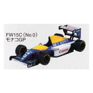 1/64 F1GP ウィリアムズミニカー Canon Williams FW15C モナコGP 1993 #0