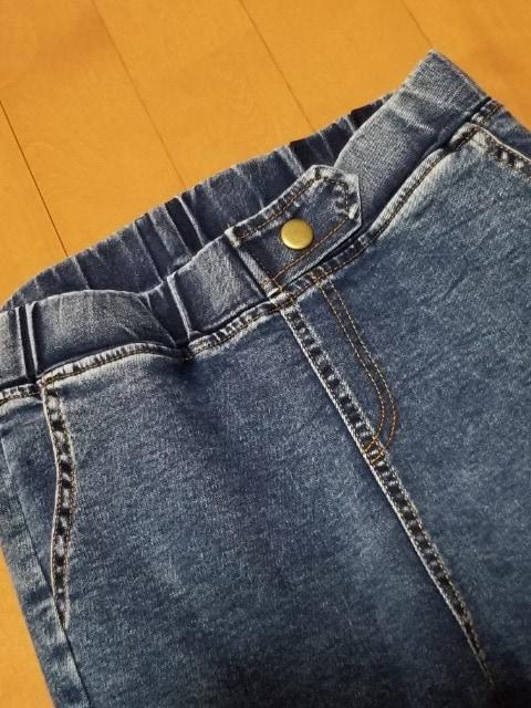 ◆デニムレギパン◆パギンスパンツスキニーストレート < 女性ファッションの