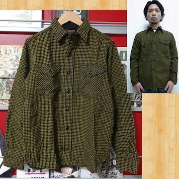 購入19740円 cootie ウール チェックシャツ S kj 降谷 美品