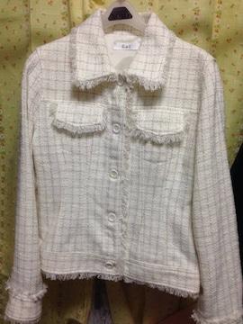 新品★Lサイズ★GATツィードデザインジャケット☆フォーマル